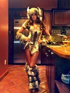 Kelly Kelly 2012 Warrior