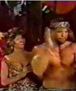 Macho Man Elizabeth as Tarzan Jane