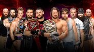SS 2016 5-on-5 Survivor Series Men's Elimination Match