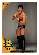 2010 WWE (Topps) Justin Gabriel 72