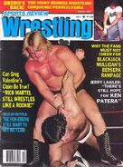 Sports Review Wrestling - October 1983