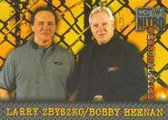 1999 WCW-nWo Nitro (Topps) Larry Zbyszko & Bobby Heenan 70