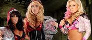 Layla & Michelle McCool vs. Natalya