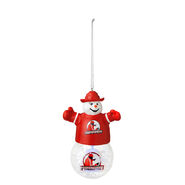 Brodus Clay Snowman Light Up Ornament