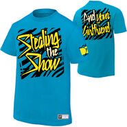 Dolph Ziggler Stealing The Show Authentic T-Shirt