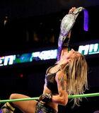 Christina Von Eerie 1st Ever GFW Women's Champion