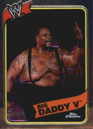 2008 WWE Heritage III Chrome Trading Cards Big Daddy V 43