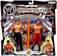 WWE Adrenaline Series 2 Johnny Stamboli & Chavo Guerrero