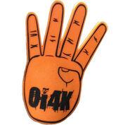 OI4K Foam Finger