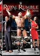 Royal Rumble 2016 DVD