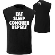 Brock Lesnar Eat, Sleep, Conquer, Repeat. Muscle T-Shirt