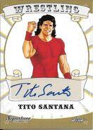 2016 Leaf Signature Series Wrestling Tito Santana 83