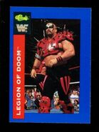 1991 WWF Classic Superstars Cards Legion Of Doom 12