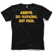 Brad Maddox Do Nothing. Get Paid. T-Shirt