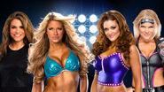 WM 28 Divas Tag Team Match