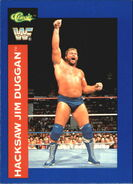 1991 WWF Classic Superstars Cards Hacksaw Jim Duggan 72