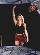 2004 WWE Divas 2005 (Fleer) Stacy Keibler 4