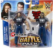 Outsiders (Scott Hall & Kevin Nash) - WWE Battle Packs 36