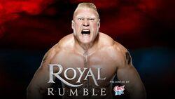 RR 2016 Royal Rumble match