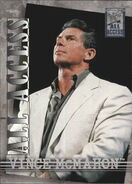 2002 WWF All Access (Fleer) Vince McMahon 41