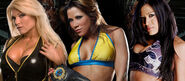 Beth Phoenix v Melina v Mickie James Judgment Day 2008