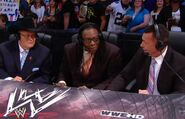 Jim Ross, Michael Cole & Booker T