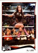2014 WWE (Topps) AJ Lee 1