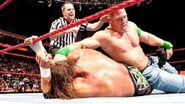 Raw 10-19-09 Cena challenge Triple H