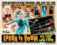 Lucha VaVoom Poster 12