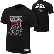 The Shield Rise Above Cancer T-Shirt