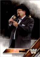 2016 WWE (Topps) Jim Ross 68