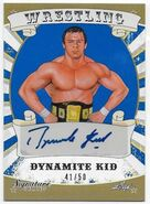 2016 Leaf Signature Series Wrestling Dynamite Kid 23