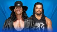 WM 33 Undertaker v Reigns