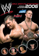World Wrestling Calendar 2006 official calendar by Danilo