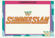 1995 WWF Wrestling Trading Cards (Merlin) Summerslam 84