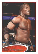 2012 WWE (Topps) R-Truth 65