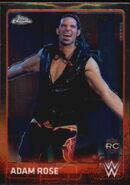 2015 Chrome WWE Wrestling Cards (Topps) Adam Rose 1