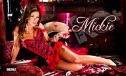 Mickie James Moulin Rouge Banner