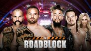 Roadblock 2016 NXT Tag Title Match