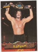 1999 WCW Embossed (Topps) Kanyon 34