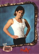 2002 WWE Absolute Divas (Fleer) Molly 34