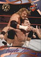 2004 WWE Divas 2005 (Fleer) Triple H 66