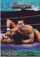 2003 WWE Aggression Nunzio 66