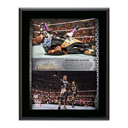 Gold & Stardust Night of Champions 10 x 13 Commemorative Collage