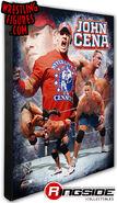 John Cena (Red) - WWE 16x20 Canvas Print