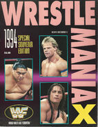 WrestleMania X Program