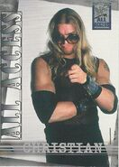 2002 WWF All Access (Fleer) Christian 5