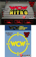 2 WCW Ring Skirts & 2 WCW Ring Mats