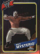 2008 WWE Heritage III Chrome Trading Cards Rey Mysterio 3