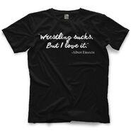 Brad Maddox Wrestling Sucks T-Shirt